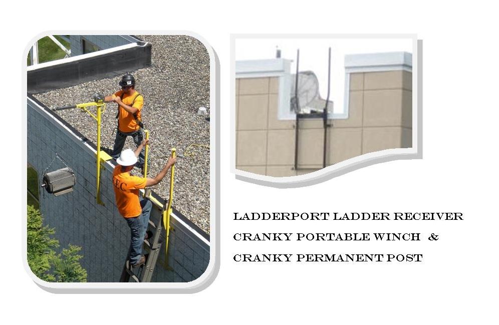 LadderPort   Safety Equipment   Ladder Stabilizer / Receiver